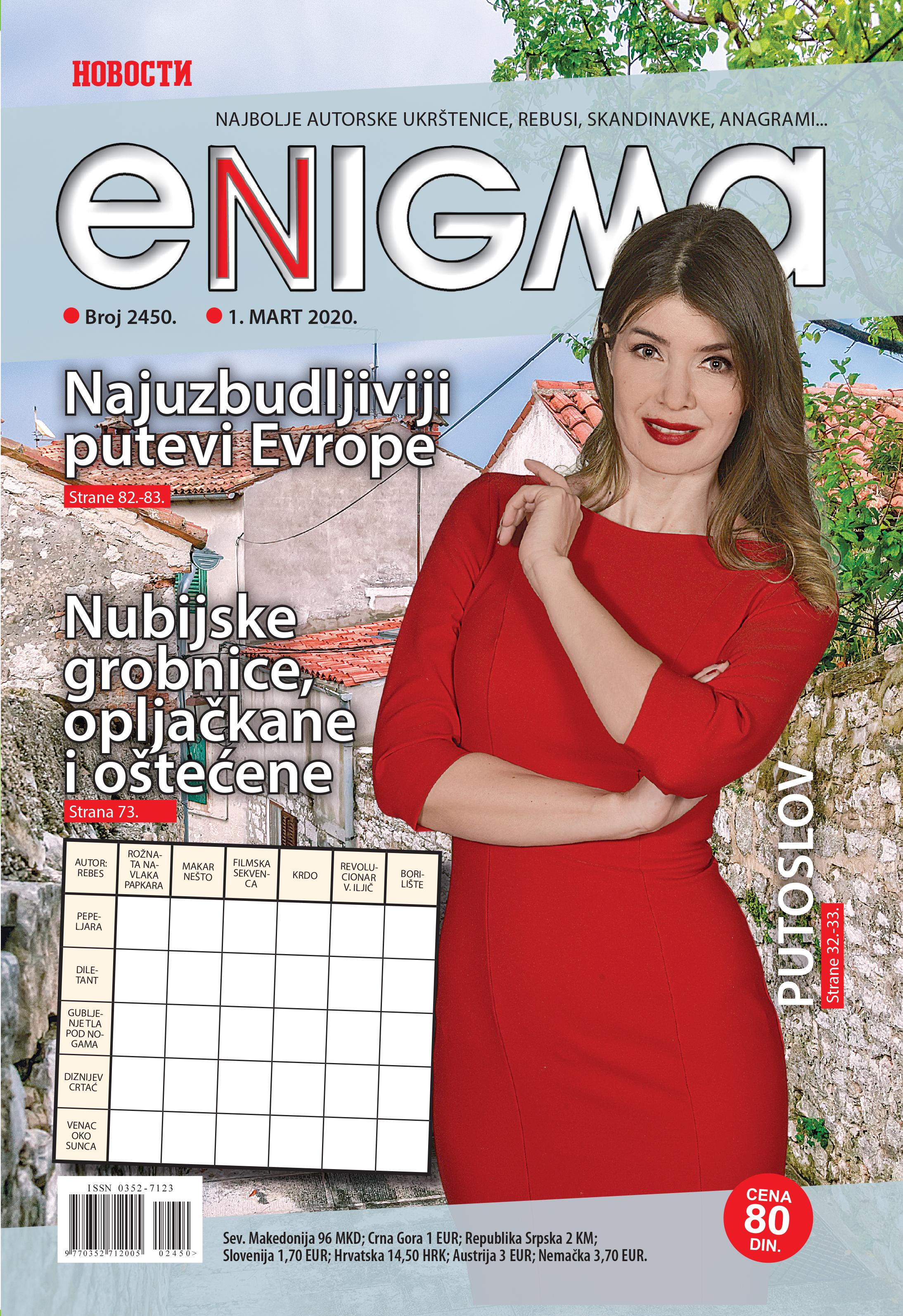 ENIGMA naslovna 2450