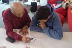 SAJAM MEDIJA 2018: Mladi David Filep pravi ukrštenicu uz pomoć enigmate Krste Ivanova